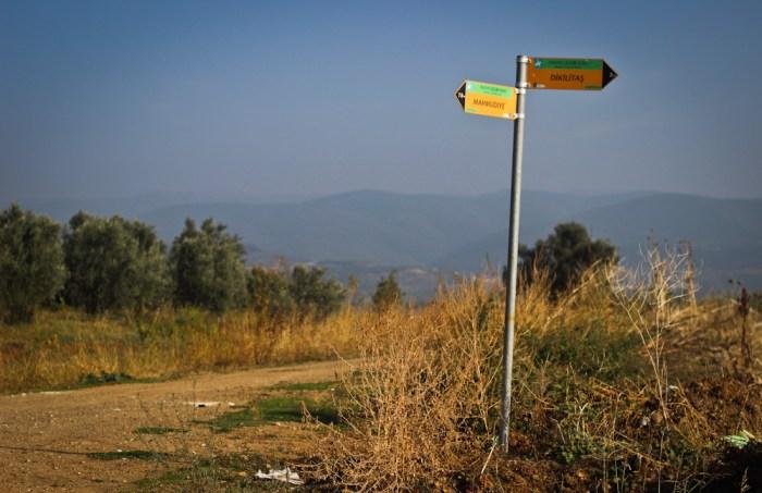 Evliya Celebi Way signposts
