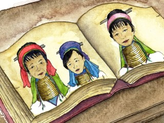 Myanmar illustrations for Yahoo Travel