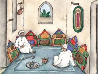 Oman illustrations for Yahoo Travel