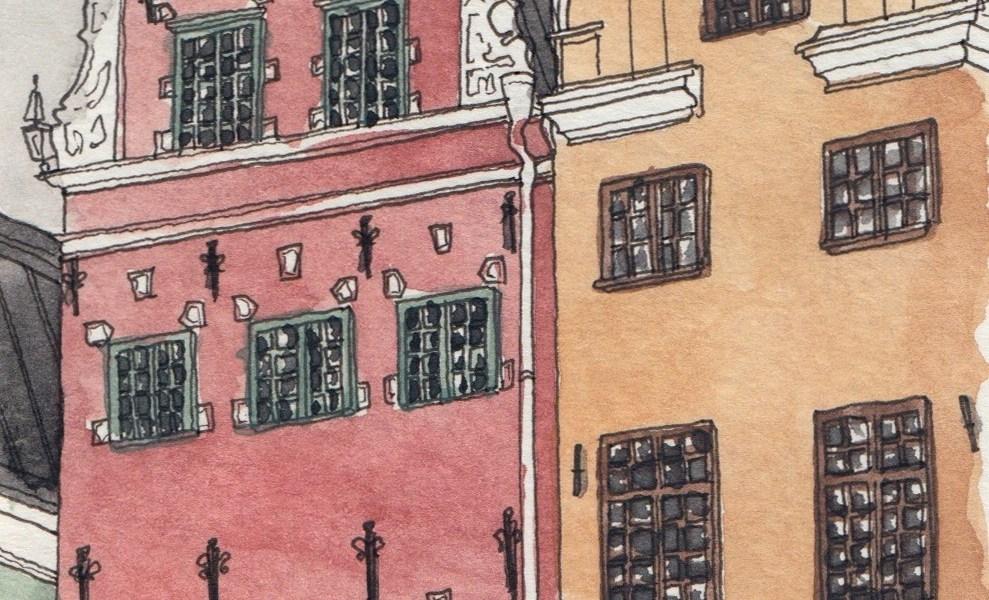 Sketching Sweden: A full-circle return to Stockholm.