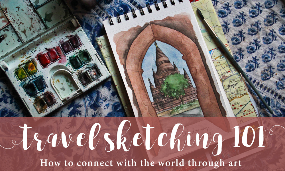 Travel Sketching 101: Free ebook launch — and giveaway!