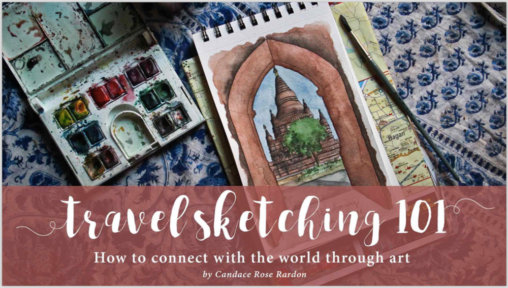 Candace rose rardon travel sketching 101 free ebook launch and i never properly launched travel sketching 101 today its time to change that fandeluxe Document