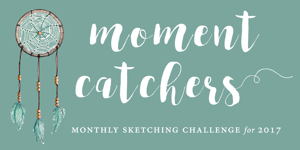 Moment Catchers sketching challenge