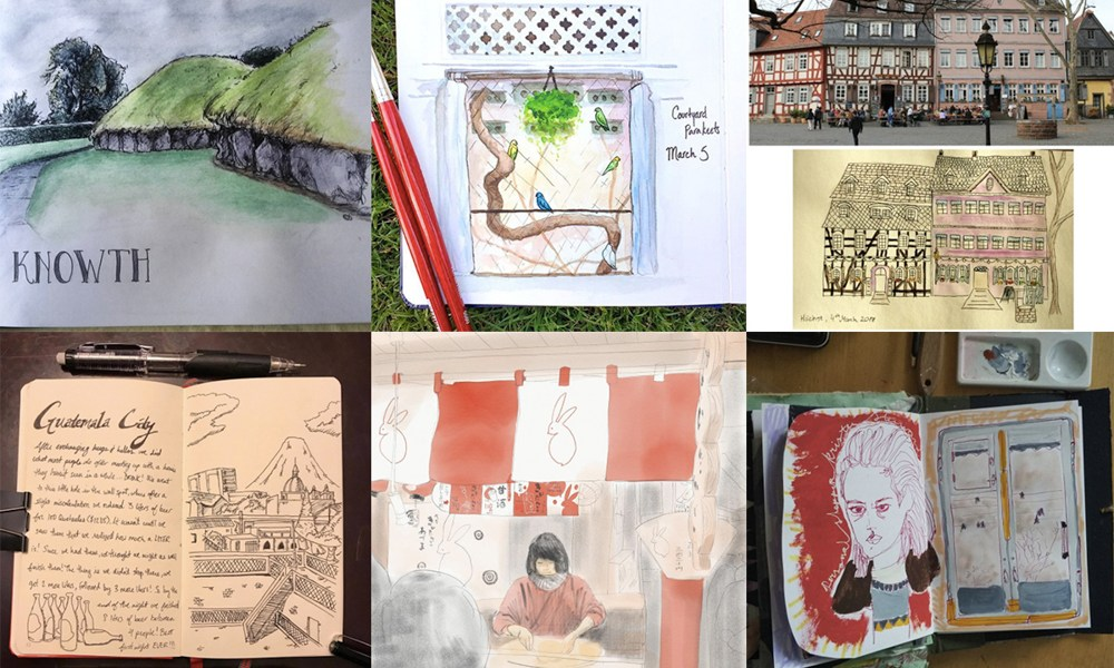 Moment Catchers Project: Sharing our sketches — March 2017