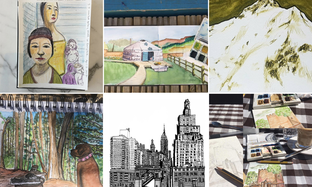 Moment Catchers Project: Sharing our sketches – April 2017