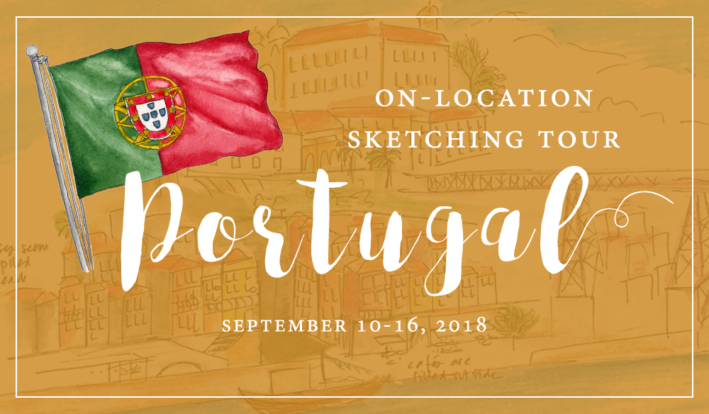 Portugal sketching tour