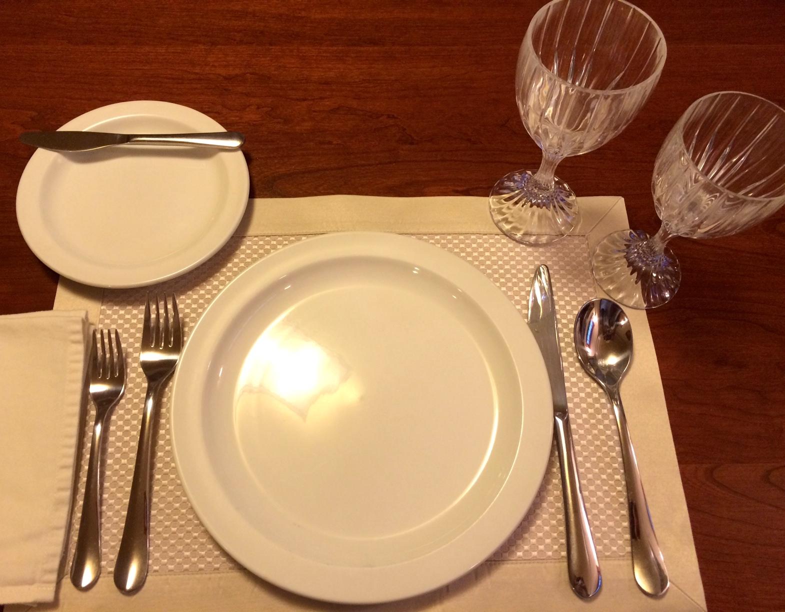 Table Setting Etiquette