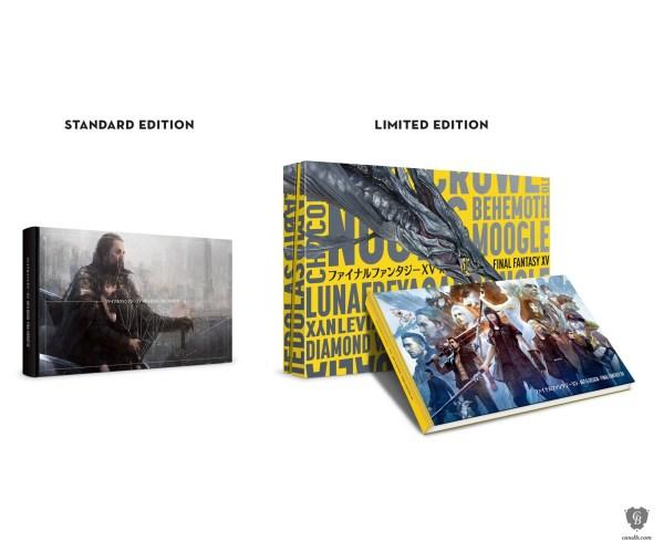 Artwork Art And Design Of Final Fantasy Xv Square Enix
