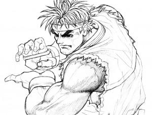 Artwork by Capcom