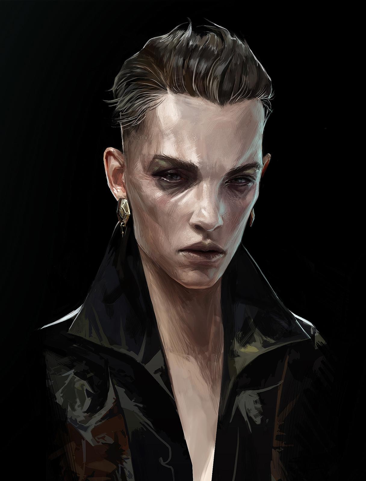 artwork delilah portrait dishonored