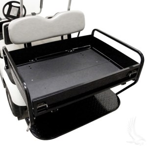 golf cart trailer seating