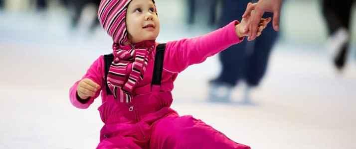 Child Sat on Ice