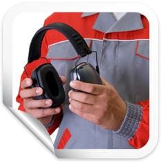 Person Holding Earphones
