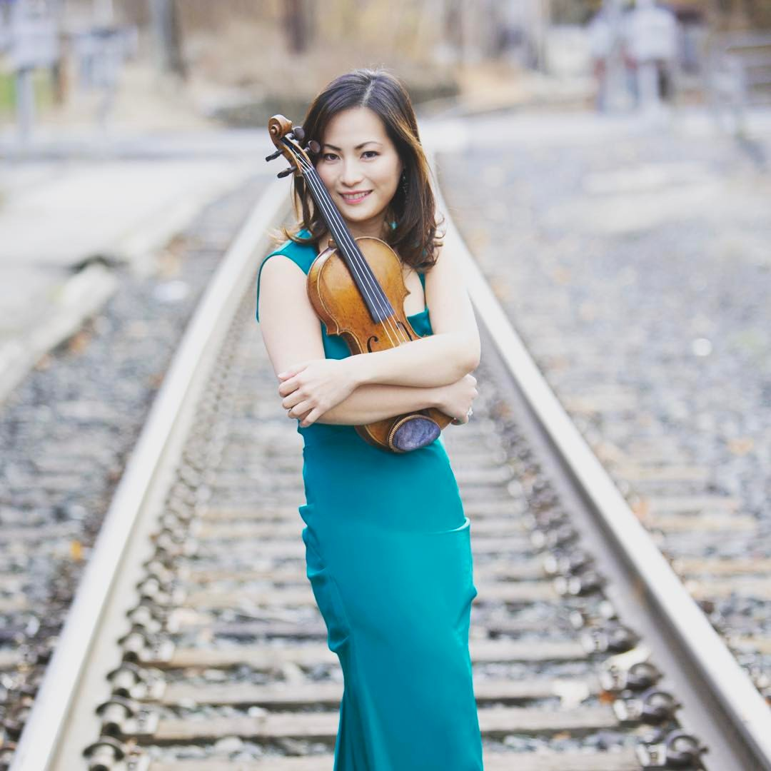 Working With Amazing  Hye-Jin Violinist