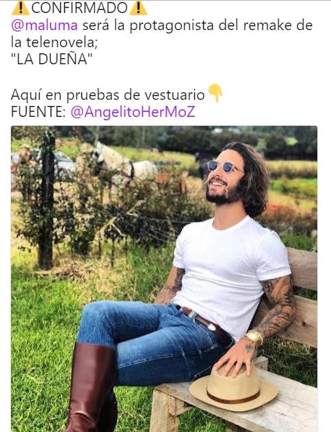 Foto de Maluma provoco burlas en redes sociales 9