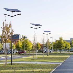 éclairage fonctionnel solaire