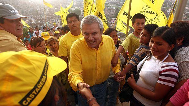Candidatura de Luis Castañeda fue oficializada por su partido