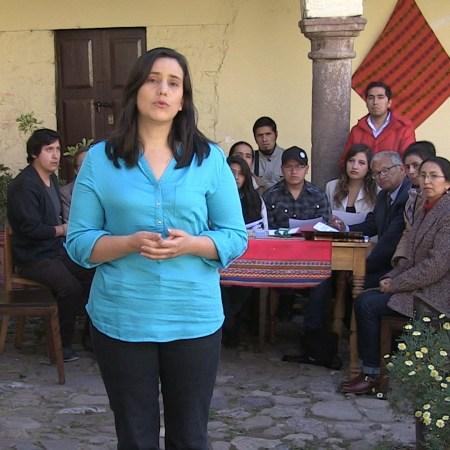 Verónika Mendoza anuncia pre candidatura para las elecciones 2016