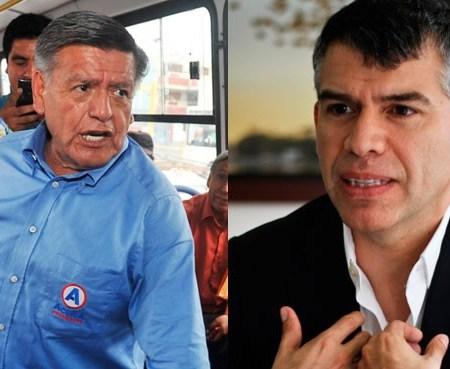 Encuesta de hoy: César Acuña vs Julio Guzmán