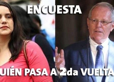 Segunda vuelta: ¿Verónika Mendoza o PPK?