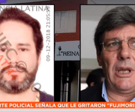 "Rafael Rey cachetea a presidente de mesa por llamarlo ""Fujimorista"" en pleno Referéndum 2018"