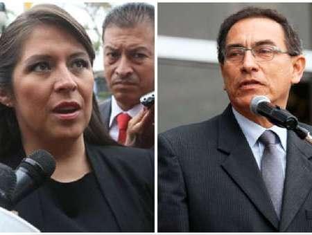¡Lo quieren Vacar!: Yeni Vilcatoma presentaría denuncia constitucional contra Martín Vizcarra