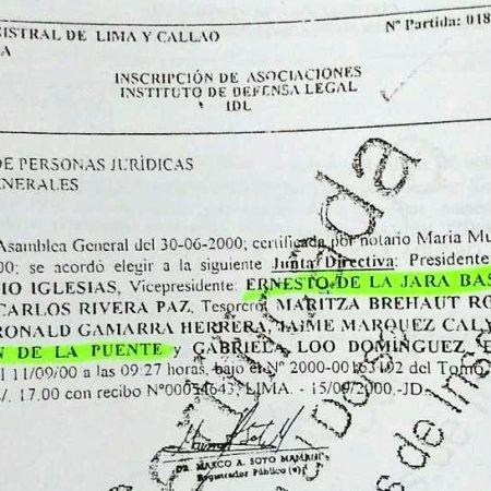 ¡Al Descubierto!: Susana Villaran fue miembro del IDL