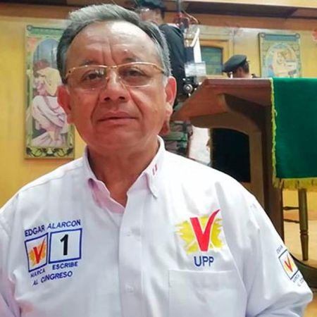 Candidato Edgar Alarcón promete extraditar a todos los venezolanos en el Perú