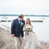 Karina and Werner's Bohemian-Chic Wedding at Fritz Farm