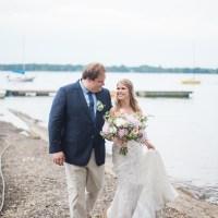 Karina and Werner's Bohemian-Chic Wedding at Fritz Farm
