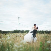 Alex and Annie's Wedding at Vignoble La Bauge is Guaranteed to Melt Your Heart