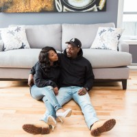 An Intimate At-Home Engagement
