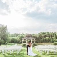 An Intimate Outdoor Wedding at Au Vieux Moulin
