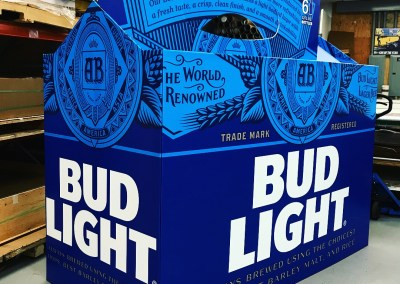 Bud Light Pool Float '6-Pack'