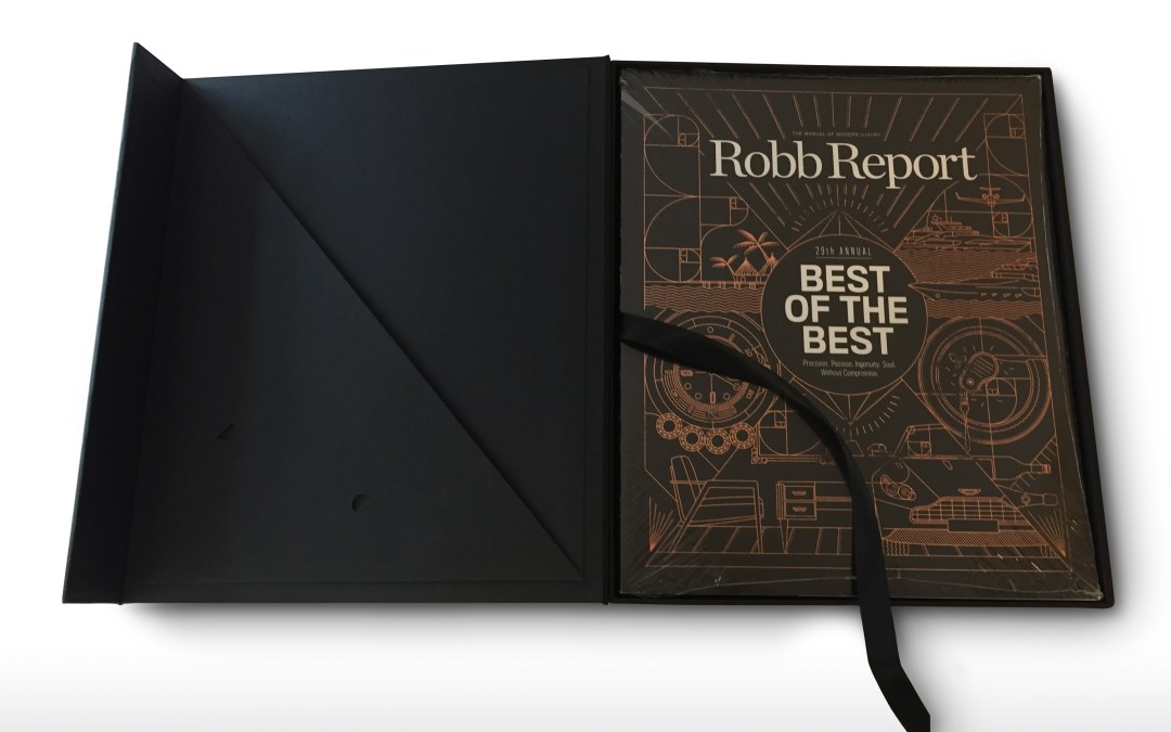 "Robb Report ""Best of the Best"" Case"
