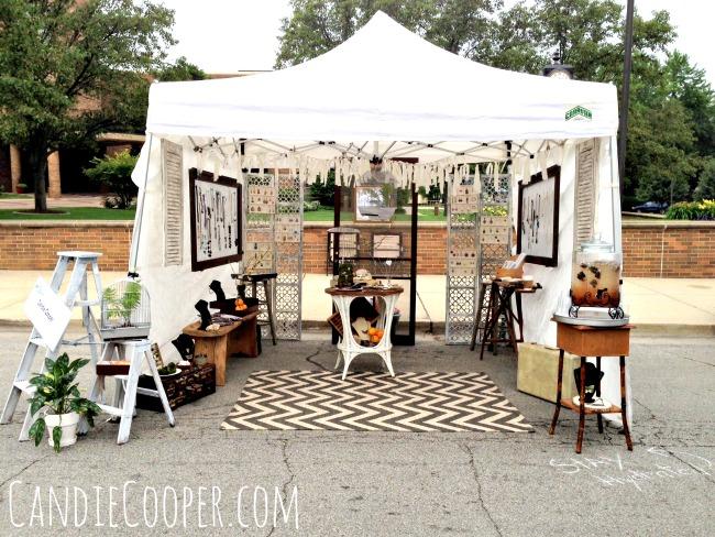 How to Set Up an Art Fair Tent