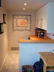 Finish the family room renovation with updating the wet bar.