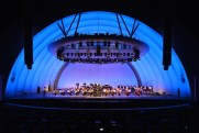 Liam plays with CYMO at the Hollywood Bowl