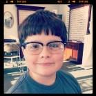 Hipster glasses for Logan
