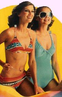 The way we wore swimwear  Candis