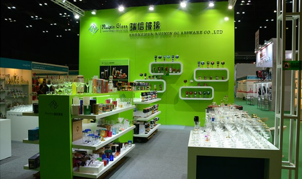 Ruixin Glass Sourcing Show