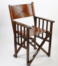 Leather Directors Chair UK|Brown Leather Folding Chair ...