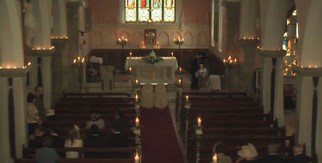 wedding chair covers galway best for hip replacement candles weddings | church ...
