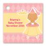 Baby Shower Favor Tags Little Princess Hispanic Favor Tags