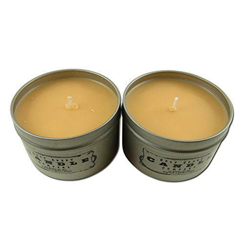 Pumpkin Spice Latte Scented Holiday Candle 2 Pack 8