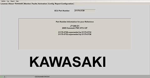 2005 Kawasaki PWC STX-12F : CANDooPro LLC, Diagnostic Tools