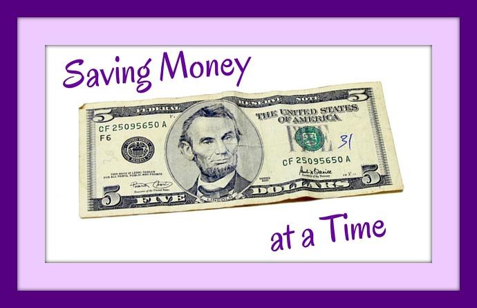 Saving Money $5 at a Time