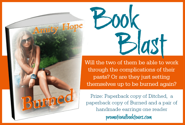 Burned by Amity Hope Book #Blast and #Giveaway