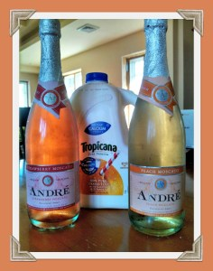 strawberry peach moscato ingredients