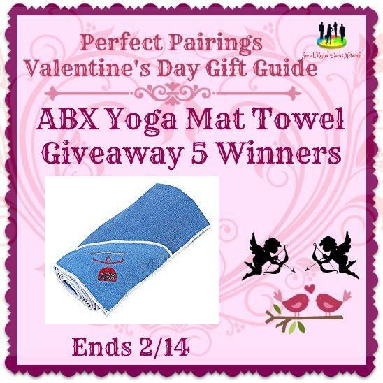 ABX Yoga Mat Towel #Giveaway 5 Winners Ends 2/14